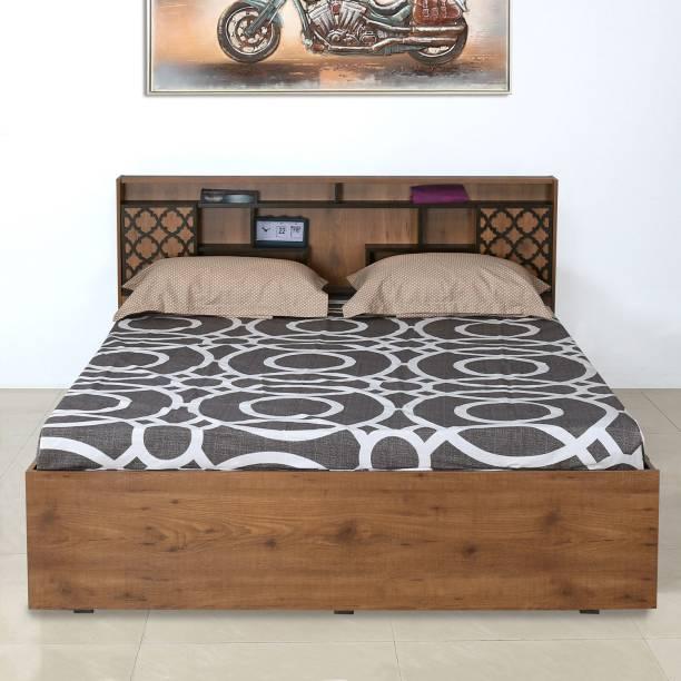 Nilkamal Czar Engineered Wood Queen Box Bed