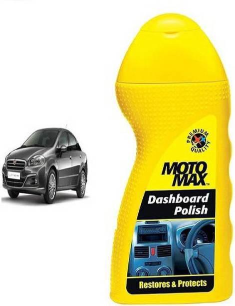 Motomax Liquid Car Polish for Leather, Dashboard