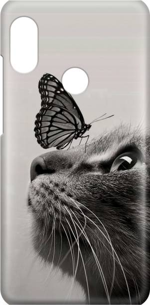 Accezory Back Cover for VIVO V9, LOVE, CUTE CAT, Love, Couple, Love, Couple