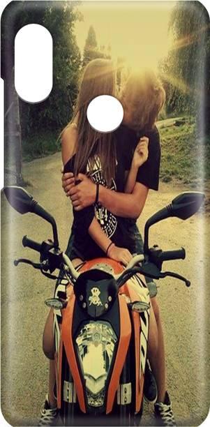 Accezory Back Cover for VIVO V9 Back Cover-BIKE-KTM-LOVE-COUPLE-BACK CASE