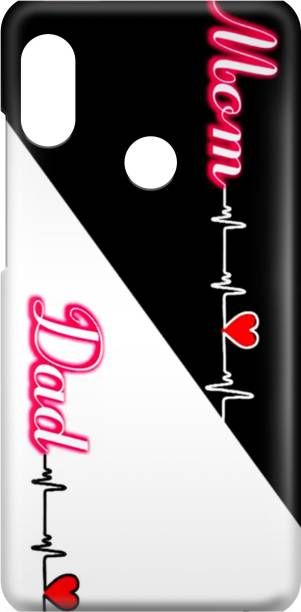 Digimart Back Cover for VIVO Y11 Back Cover, LOVE, MOM DAD, BACK CASE