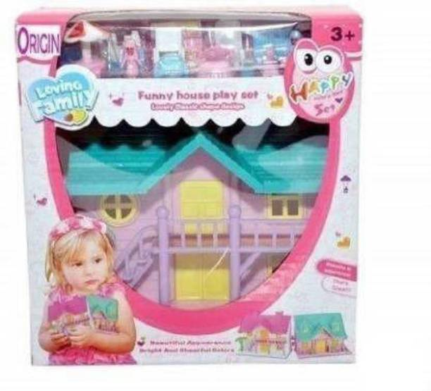 Tenmar FUNNY HOUSE PLAY SET (Multicolor)