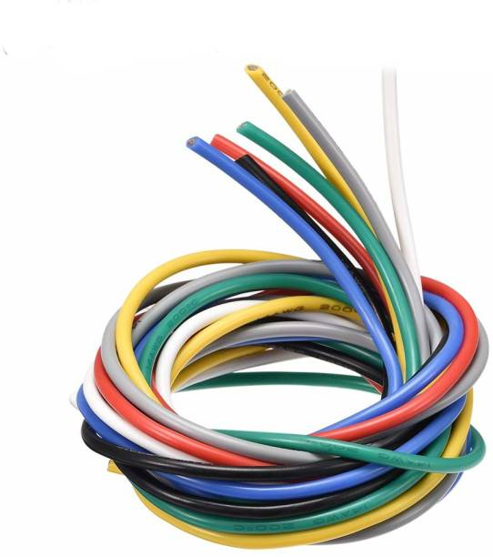 uxcell PVC Insulated Wire 4.0 SQ Multicolor 7 ft. Wire