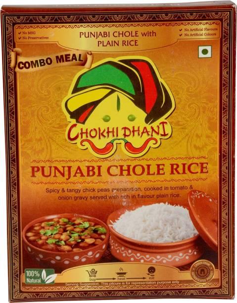 Chokhi Dhani Foods Punjabi Chole Rice Combo 385 gm 385 g