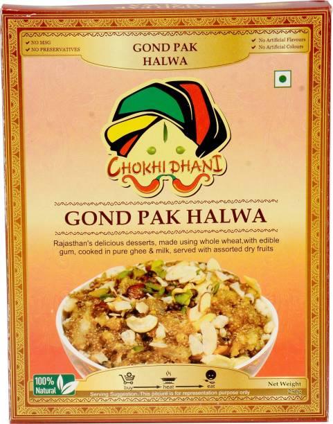 Chokhi Dhani Foods Gond Pak Halwa 250 gm 250 g