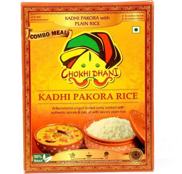 Chokhi Dhani Foods Kadhi Pakora Rice Combo 385 gm 385 g