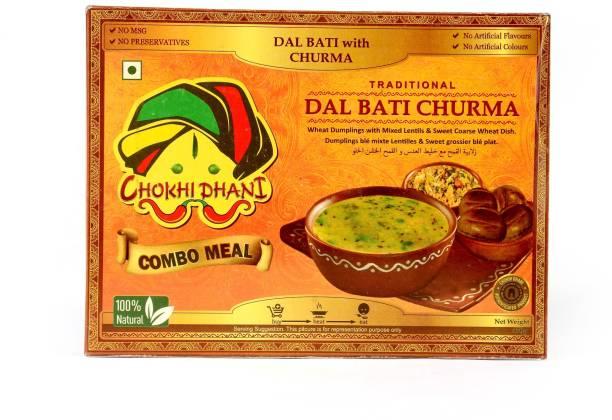 Chokhi Dhani Foods Daal Bati Churma 470 gm 470 g