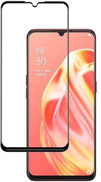 KWINE CASE Edge To Edge Tempered Glass for Oppo F15, Oppo F17