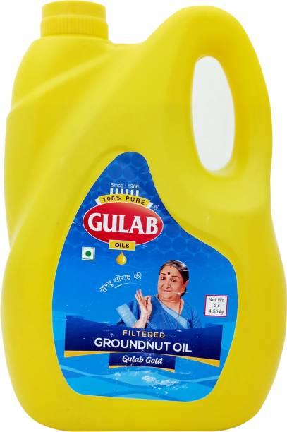 Gulab FILTER GROUNDNUT OIL Groundnut Oil Can