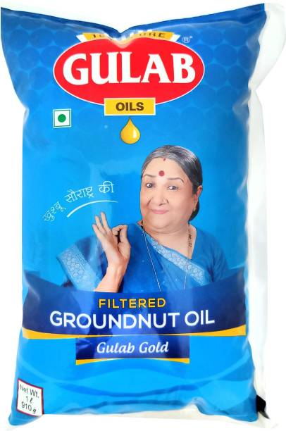 Gulab FILTER GROUNDNUT OIL Groundnut Oil Pouch