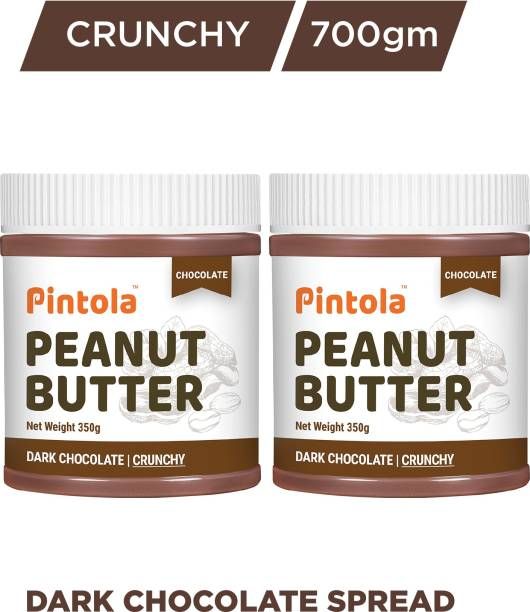Pintola Choco Peanut Butter (Crunchy) Pack of 2 700 g