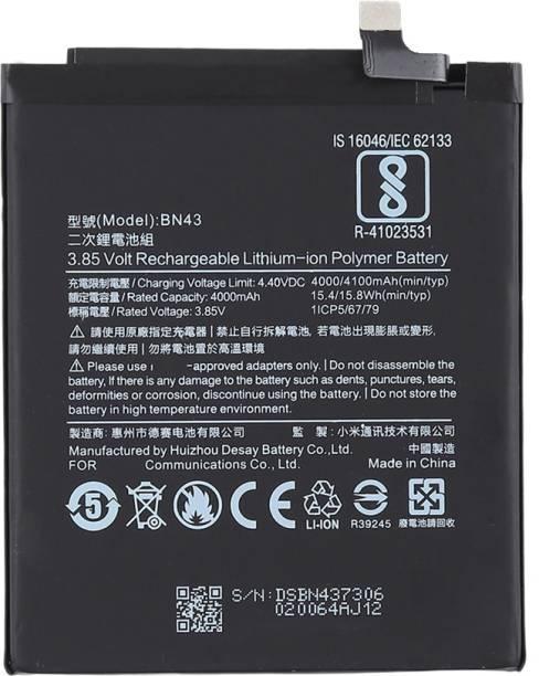 Safa Mobile Battery For  Xiaomi Redmi Note 4 - 4100mAh