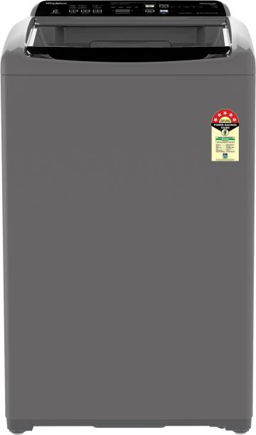 Whirlpool 7.5 kg 5 Star, Hard Water wash Fully Automatic Top Load Grey