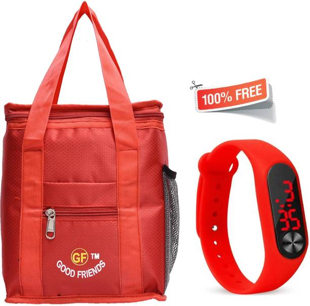 GOOD FRIENDS Branded Tiffin GF0014 Watch Waterproof Lunch Bag