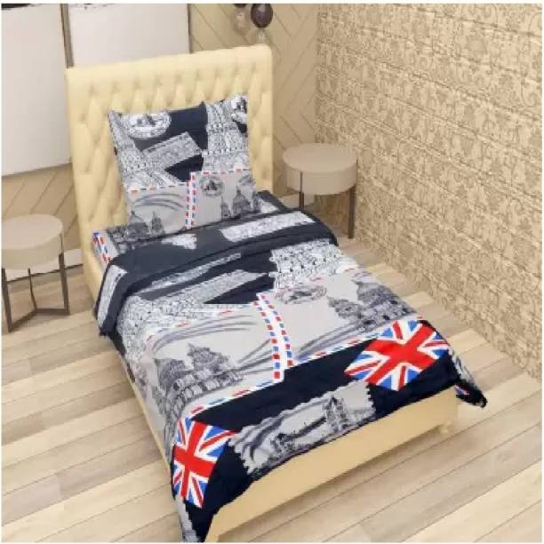Home Readiness 140 TC Polycotton Double Printed Bedsheet