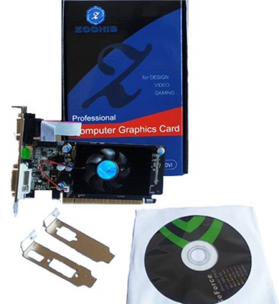 ZOONIS NVIDIA NVIDIA Geforce GT 710 2 GB DDR3 Graphics Card 2 GB DDR3 Graphics Card