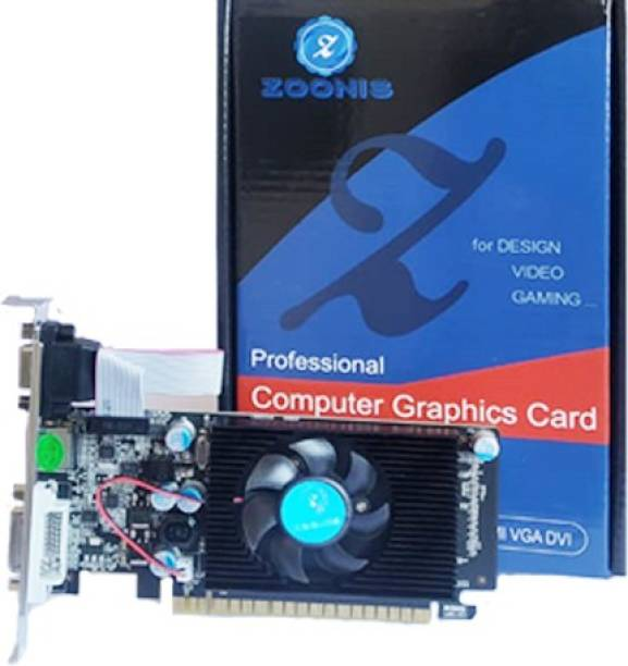 ZOONIS NVIDIA NVIDIA GEFORCE GT 730 4GB DDR3 Graphics Card 4 GB DDR3 Graphics Card