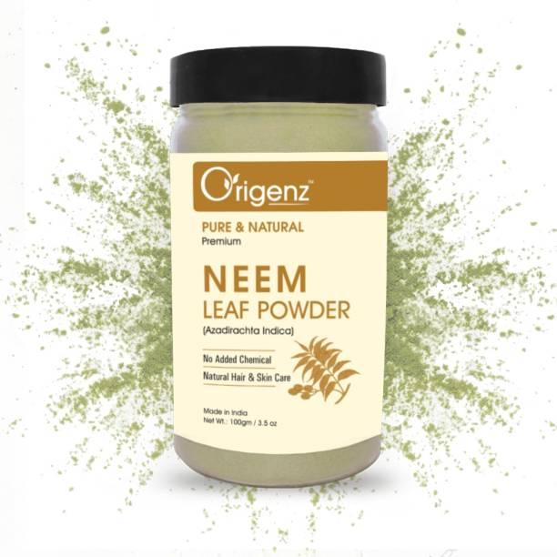 Origenz Premium Neem Leaf Powder for Hair Pack & Face Pack
