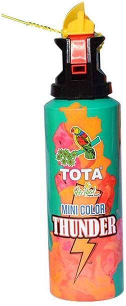 NYALENTERPRISE Mini Colour Thunder for Holi Celebration Holi Natural Gulal Blaster (Pack of 1) (Green) Holi Color Powder Pack of 1