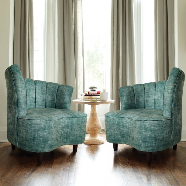 ARRA Velma Living room chair Set of 2 Solid Wood Living Room Chair