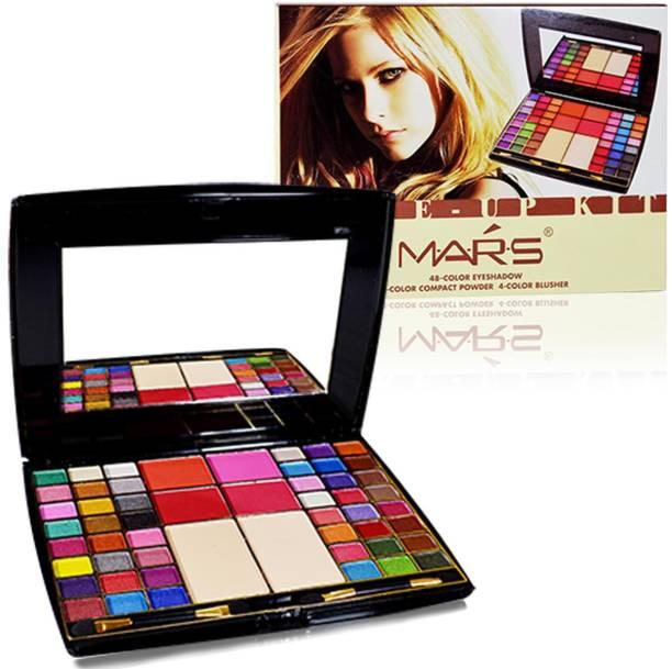 MARS Make Up Kit With 48 Eyeshadow With Laperla Kajal-01