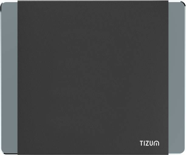 Tizum Aluminium- Anti-Skid PU Gaming Mouse pad for MacBook, Laptop & Desktop Mousepad