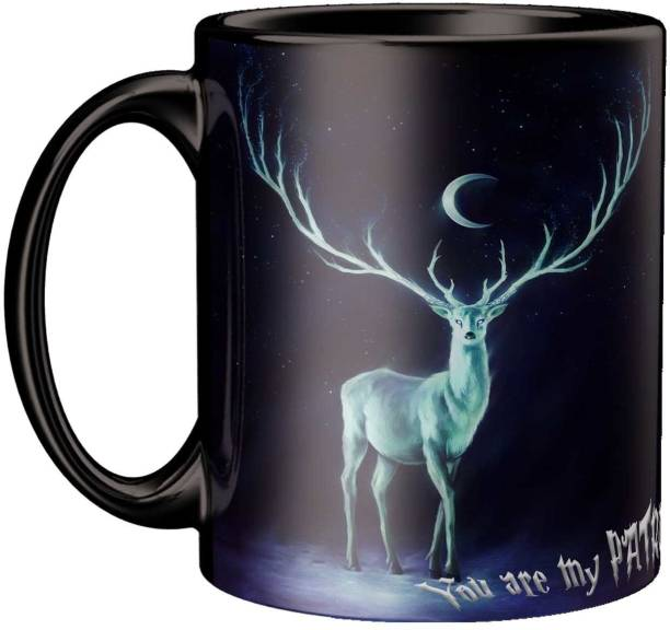 ECFAK Harry Potter Expecto Patronum Ceramic Coffee Mug