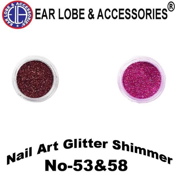 Ear Lobe & Accessories Nail Crystal Powder
