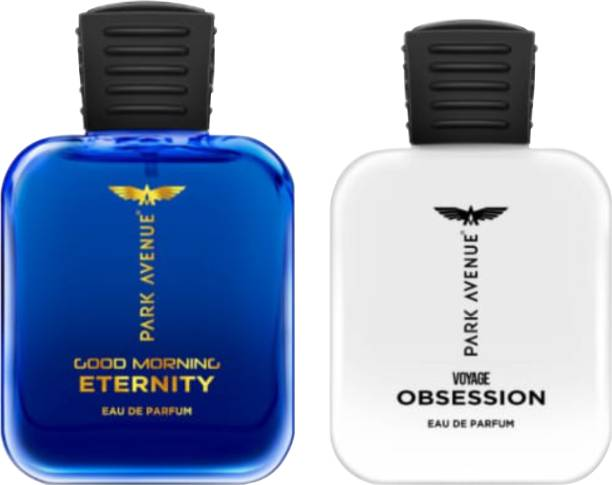 PARK AVENUE GOOD MORNING ETERNITY EDP AND VOYAGE OBSESSION EDP ORIGINAL COLLECTION PACK OF 2 Eau de Parfum  -  50 ml