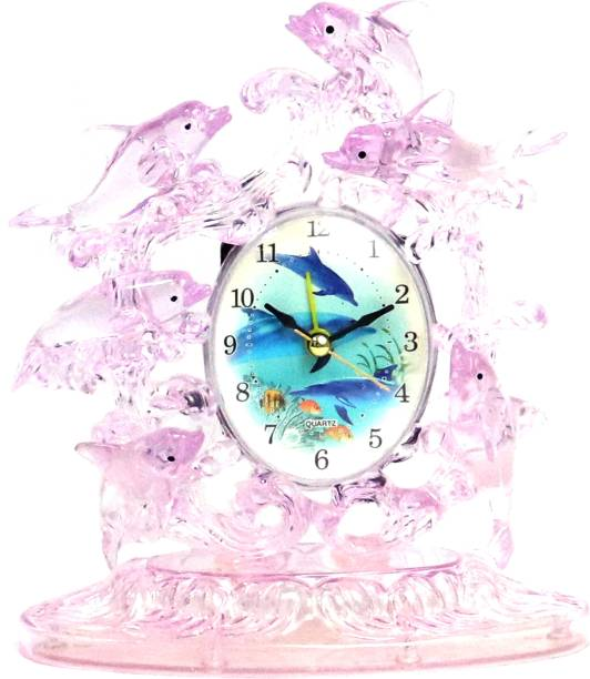 Sigaram Analog Purple, Pink Clock