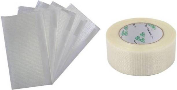 Kiraro Set of Cricket bat side protection tape with 5 piece of front protection tape Support Tape