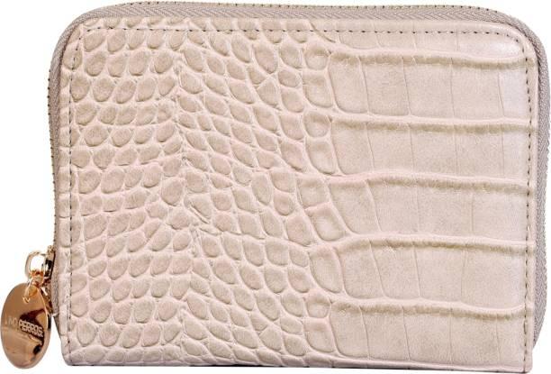 LINO PERROS Women Beige Artificial Leather Wallet
