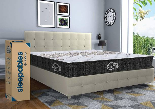 CENTUARY Mattresses Sleepables Multi Layered 6 inch King Pocket Spring Mattress