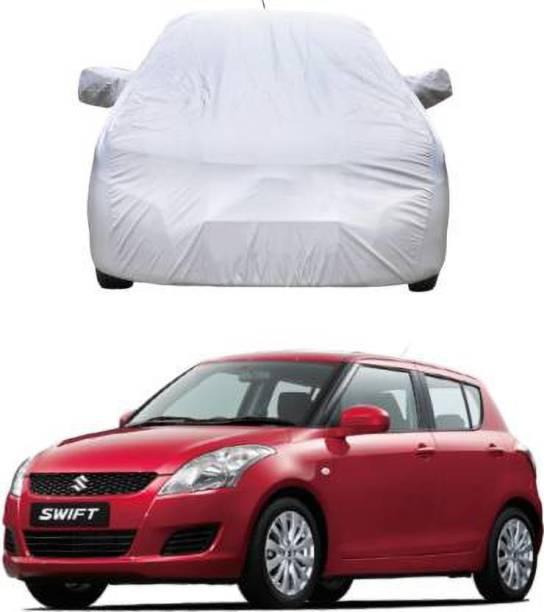 online Retail Car Cover For Maruti Suzuki Swift (With Mirror Pockets)