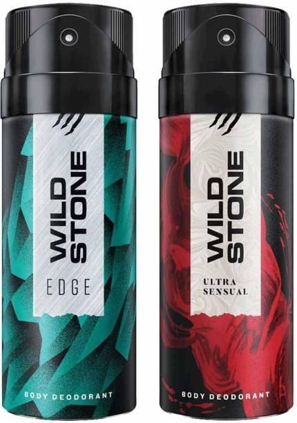 Wild Stone edge & ultra sensual deo Body Spray  -  For Men