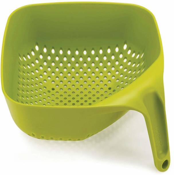 UTTARZONE Plastic Kitchen Rice Fruits Vegetable Noodles Pasta Washing Bowl and Strainer for Storing and Straining Plastic Fruit & Vegetable Basket