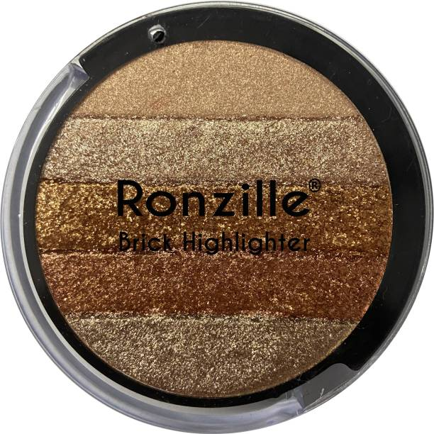 RONZILLE Shimmer Round Brick Highlighter