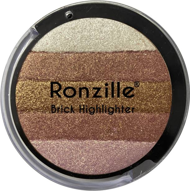RONZILLE Shimmer Round Brick Highlighter 03