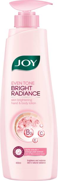 Joy Even Tone Bright Radiance Skin Brightening Hand & Body Lotion