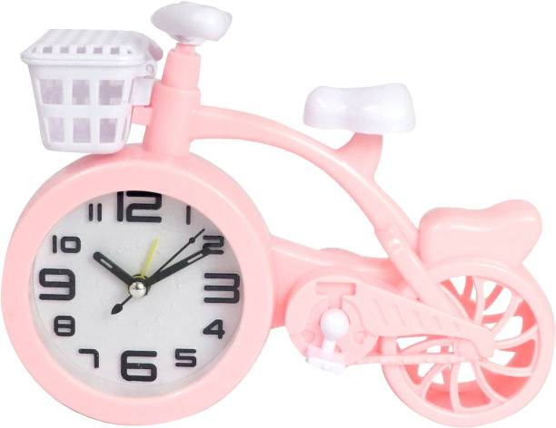 Sigaram Analog Pink Clock