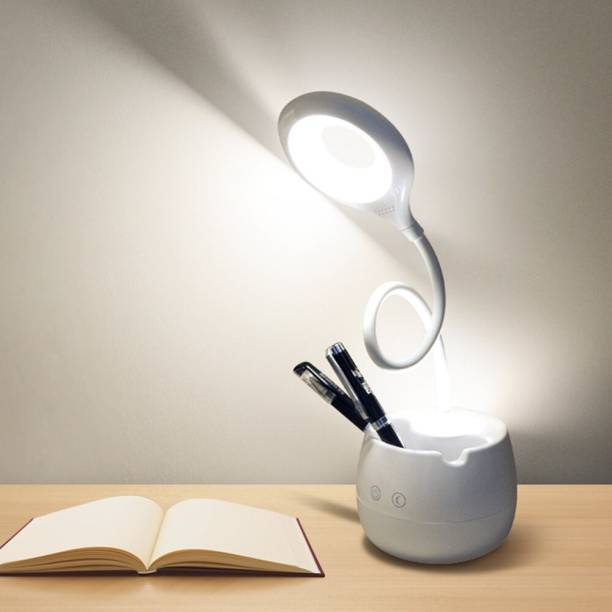 METTSTONE Touch On/Off Switch LED Desk Lamp (5 IN 1) Study Lamp Study Lamp Study Lamp