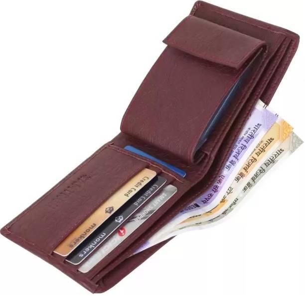 GD Fashion Men Brown Artificial Leather Wallet