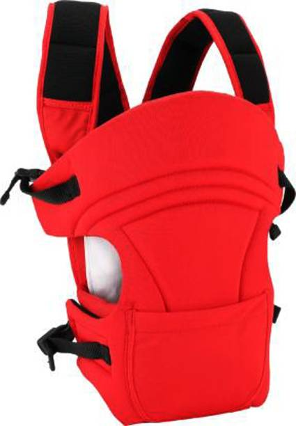 MOM'S PRIDE 3 in1 Baby Carrier for kids (Upto 12 Kg) RED Baby Carrier