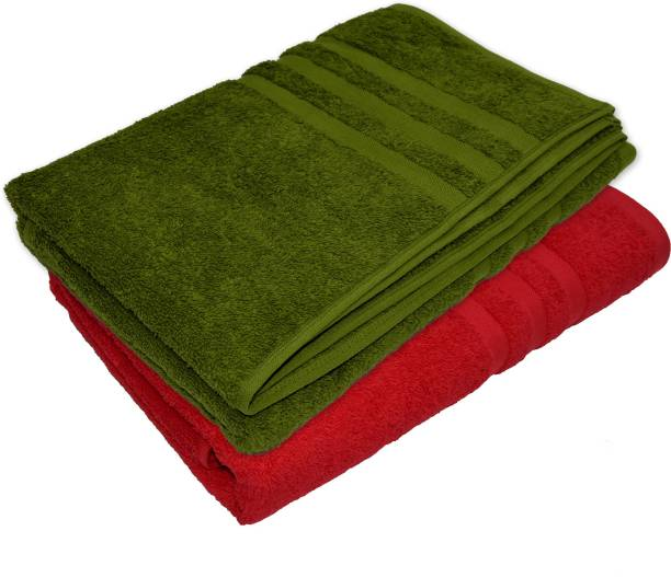 NANDAN JOY Cotton 460 GSM Bath Towel Set