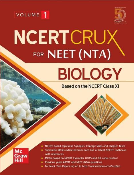 NCERT CRUX for NEET (NTA) Biology | Volume 1