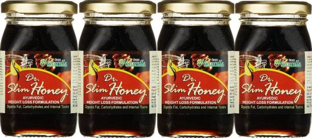 Farm Naturelle Finest Doctor Slimming Forest Honey with Herbs, 250g(Pack of 4)