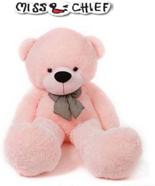 Miss & Chief 106 cm Pink Teddy Bear/Anniversary Gift/Valentine Gift/Birthday Gift  - 106 cm