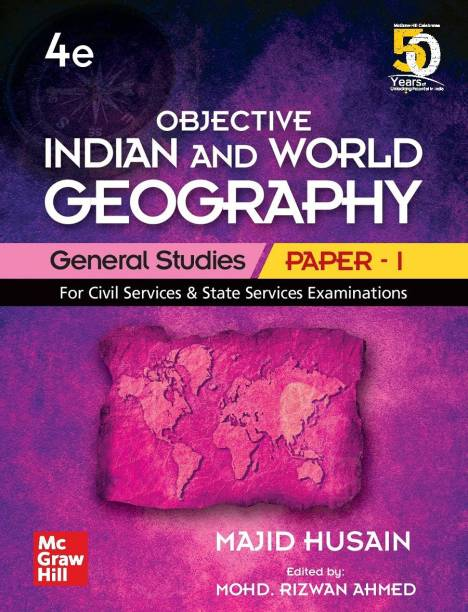 Objective Indian and World Geography General Studies - Paper 1