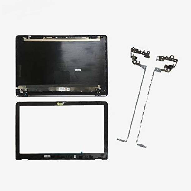 PRDLAPTOP Laptop led Top Panel Back Cover for hp Pavilion Hp 15bs 15-bs 15-bw 15q-bu 250 g6 Non Glossy mat Finish Black Panel L03442-001 with Bazzel with Hinges and with Hinge Cap Black LED 15 inch Replacement Screen