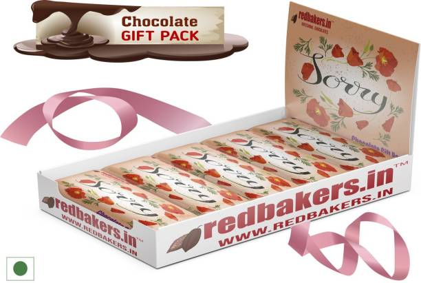 redbakers.in Sorry Vanilla 5 Chocolates Gift Pack Bars